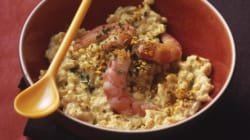 Vite fait, bien fait: Risotto de crevettes au curry et lait de