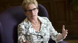 Wynne Slams Tories For 'Deplorable'