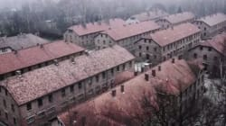Voyez des images du camp d'Auschwitz vues du