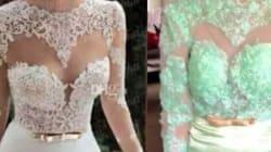 15 vestidos de noiva comprados na Internet que eram