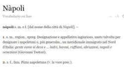 Napoli sulla Treccani, la definizione non piace ai