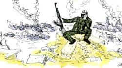 Libérée mais dévastée: les impressionnantes images de
