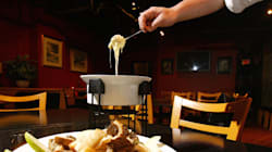 Manger de la fondue