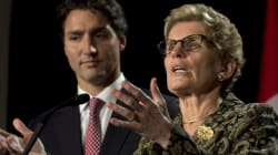 Wynne Calls For Harper's
