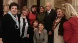 Tutte le donne di Napolitano