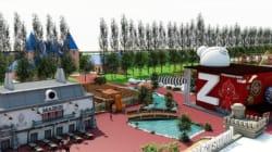 Les premières images du Parc Spirou qui ouvrira en