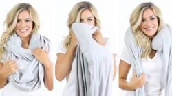 Faites la sieste partout avec ce foulard