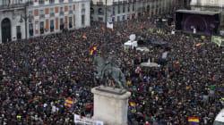 Au moins 100.000 personnes à Madrid pour soutenir