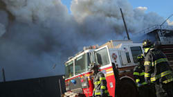 Massive Coquitlam Fire Sends 100 People From