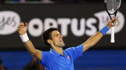 Djokovic remporte les Internationaux de tennis d'Australie