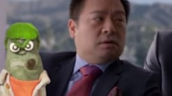 WATCH: Ed The Sock Really Disliked These Super Bowl