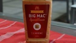 McDo commercialise enfin sa fameuse sauce Big