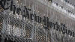 Le New York Times publie un éditorial