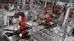 Visite de l'usine Tesla de Fremont en Californie