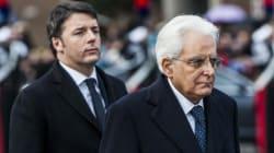 Effetto Mattarella sulla popolarità di Renzi