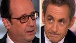 Hollande mouche Sarkozy... sans jamais le
