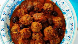 Boulettes de viande à la sauce tomate façon