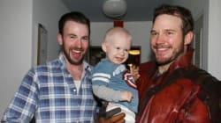 Quand Star-Lord et Captain America s'associent pour le bonheur d'enfants