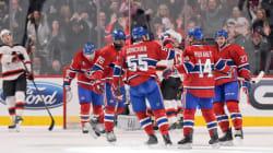 Enfin des buts pour l'attaque du Canadien, victoire de 6-2 contre les Devils