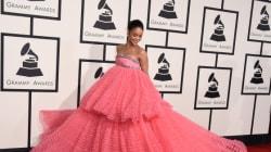 Les internautes s'amusent avec la robe de Rihanna aux Grammys 2015