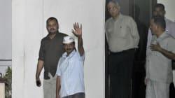 Kejriwal Meets Delhi Lieutenant Governor Najeeb