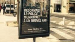 La dernière affiche de la mairie de Robert Ménard fait