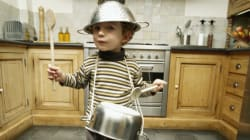 Kids and the Kitchen: Introducing Tools for