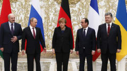 Ukraine: accord sur un cessez-le-feu au sommet de