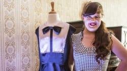 Pour la première fois, une actrice trisomique défile dans une Fashion