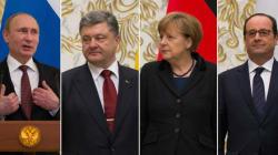 L'accord à Minsk ne fait pas du tout le même effet à chaque chef