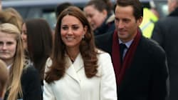 Kate Can't Hide Baby Bump Under Her