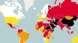 L'Italia sempre peggio nella libertà di stampa