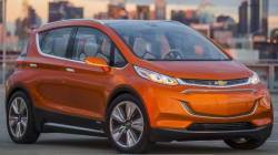 GM lance la production de sa Chevrolet Bolt électrique
