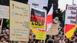 Pegida organise sa première manifestation au