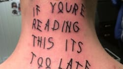 Ce tatouage amène le fanatisme à un autre