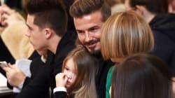 Au défilé de Victoria Beckham: David et les quatre enfants sont tous
