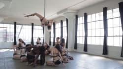 Questo video vi farà capire che la pole dancing non è solo