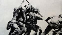 23 février 1945: la bannière américaine flotte sur le mont