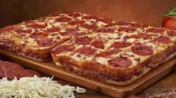 Vous aimez le bacon? Cette pizza est faite pour