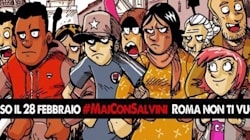 A Roma scendono in piazza i