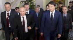Renzi vuole coinvolgere Putin sulla