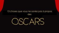 Au fait, c'est qui ce Oscar