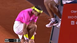 Nadal enlève son short en plein match et affole le