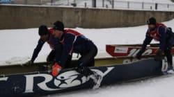 Le Défi canot à glace Montréal 2015 en