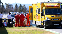Fernando Alonso, trasladado al hospital tras un