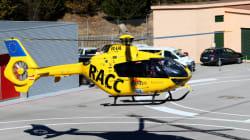 F1: Fernando Alonso évacué par un hélicoptère-ambulance après un