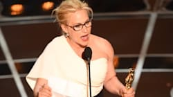 WATCH: Patricia Arquette Wins An Oscar, Speaks Out About Wage