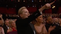 La réaction de Meryl Streep au discours féministe de Patricia