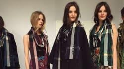 Fashion Week de Londres: le défilé automne-hiver 2015-2016 bohémien chic de