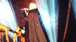 Madonna Takes A Fall At The Brit